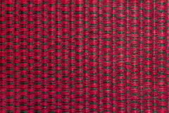 Thai Mat Red&Black. Thai Mat Red&Black, A Traditional Wallpaper for thailand Royalty Free Stock Photos