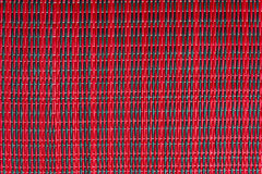 Thai Mat Red&Black. Thai Mat Red&Black, A Traditional Wallpaper for thailand Stock Image