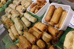 thai matgata Arkivfoton