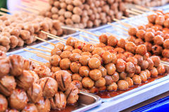 Thai meat ball. As an appetizer Stock Photo