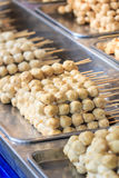 Thai meat ball Royalty Free Stock Images