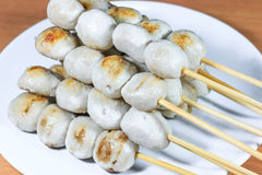 Thai meat ball. As an appetizer Stock Image