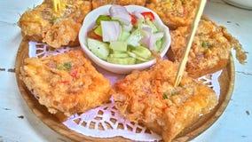 thai mellanmål Royaltyfri Fotografi