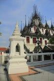 Thai Metallic Castle. In Bamgkok Royalty Free Stock Photo