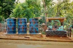 Thai military bunker Royalty Free Stock Photo