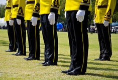 Thai military parade Royalty Free Stock Photos