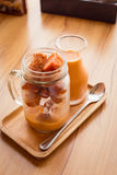 Thai milk tea. Royalty Free Stock Photography