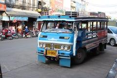 Thai Minibus Taxi Stock Photography