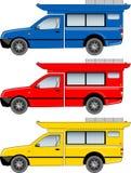 Thai Minibus vector Royalty Free Stock Image