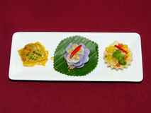 Thai mix appetizers Stock Image
