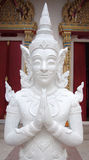 Thai model of the Buddha. At temple, Generality in Thailand, any kind of art decorated in Buddhist church, temple pavilion, temple hall, monk's house etc Stock Photos