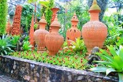 Thai modern porcelain Royalty Free Stock Photo