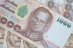 Thai money background Stock Photography