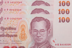 Thai money background Royalty Free Stock Photo