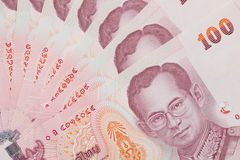 Thai money background Royalty Free Stock Photography