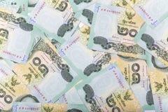 Thai money 20 baht isolated on white background Stock Image