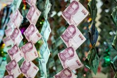 Thai money Royalty Free Stock Photo