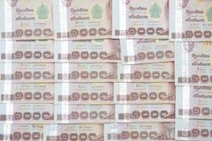 Thai money banknotes Thousand baht Stock Photo