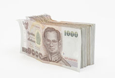 Thai money isolated Stock Photography