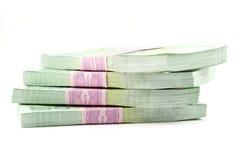 Thai money on white background Royalty Free Stock Image