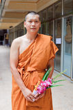Thai monk Stock Photos