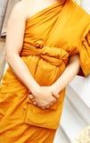 Thai monk Stock Photography