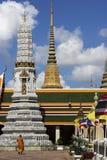 Thai monk in Bangkok Royalty Free Stock Photography