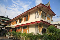Thai monk house or dwelling Stock Images