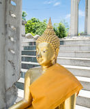 Thai  monk statue Stock Images