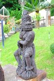 Thai monkey literature statue Stock Photos