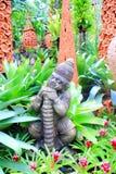 Thai monkey statue Royalty Free Stock Photos