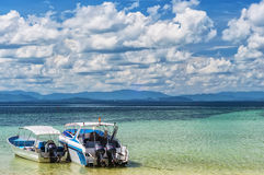 Thai Motor Boats Stock Images