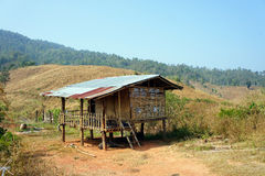 Thai mountain house Stock Photography
