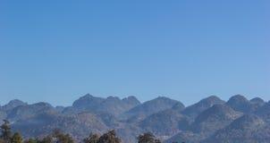 Thai Mountains. Thailand mountains in Chingdow, Chiangmai, Northern of Thailand Stock Image