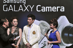 Thai movie star Ken Phupoom at the 23rd Photo Fair Royalty Free Stock Image