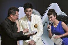Thai movie star Ken Phupoom at the 23rd Photo Fair Stock Images