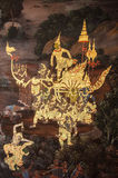 Thai Mural Royalty Free Stock Images