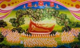Thai mural art Stock Images