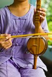 Thai music instrument Stock Image