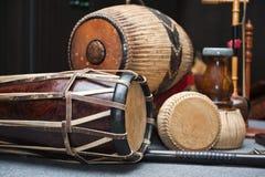 Thai music instrument. Close up royalty free stock photos