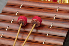 Thai musical instrument. Stock Photos