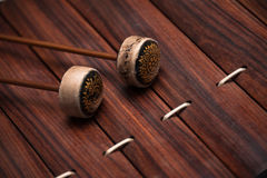 Thai musical instrument. (Alto xylophone Royalty Free Stock Images