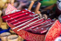 Thai musical instrument Royalty Free Stock Photography