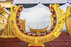 Thai musical instrument gold pattern beautiful . used to beat or knock a melody Royalty Free Stock Images