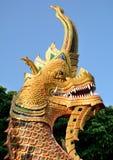 thai Na-gummin tempel Royaltyfri Fotografi