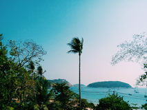 thai na plaży Obraz Stock