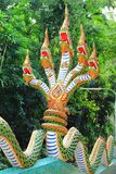 Thai naga statue Stock Photos