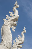Thai Naga statue Royalty Free Stock Photos