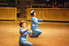 Thai Nail Dance Stock Image