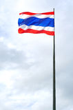 Thai nation flag Royalty Free Stock Photography